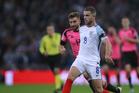 Jordan Henderson in action for England. Photo / Photosport