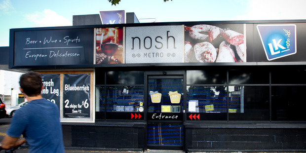 Nosh Supermarket in Ponsonby is one of the six stores up for sale. Photo / File