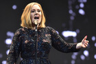Adele sold three Mt Smart Stadium shows out during a madcap eighty minutes. Photo/Getty