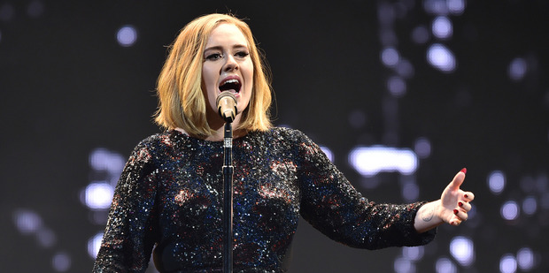 Loading Adele sold three Mt Smart Stadium shows out during a madcap eighty minutes. Photo/Getty