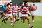 D'angelo Leuila playing for Papatoetoe Premiers in 2015. Photo / Photosport