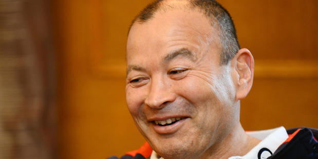 Eddie Jones may have made his biggest call yet since taking over as England's rugby coach - he says he has a playmaker who can be better than Beauden Barrett. Photo / Getty Images.