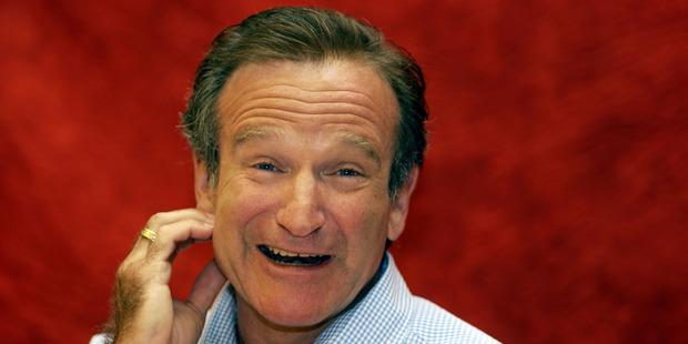 Robin Williams. Photo / Getty