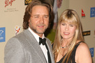 Russell Crowe and Terri Irwin pictured at the 2007 Australia Week Gala. Photo / Getty Images