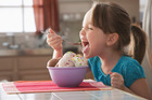Professor Koga found that ice cream eaters fired off an abundance of high-frequency Alpha-waves. Photo / Getty