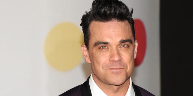 Robbie Williams. Photo / Getty