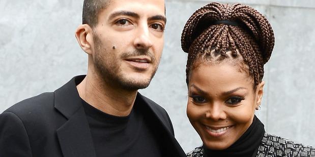 Wissam al Mana and Janet Jackson. Photo / Getty