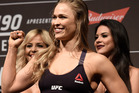 Rousey had better hope that her movie career doesn't fizzle out like her fighting career has, writes a UFC columnist. Photo / Getty
