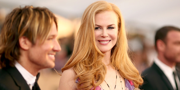 Keith Urban and actress Nicole Kidman attend The 22nd Annual Screen Actors Guild Awards. Photo / Getty