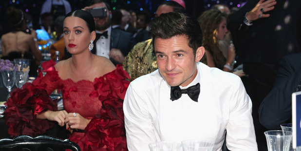 Musician Katy Perry and Actor Orlando Bloom. Photo / Getty