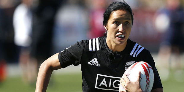 Sarah Goss remains as captain for the Black Ferns Sevens. Photo / Getty