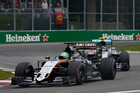 Nico Hulkenberg during the Canadian Formula One Grand Prix. Photo / Getty Images