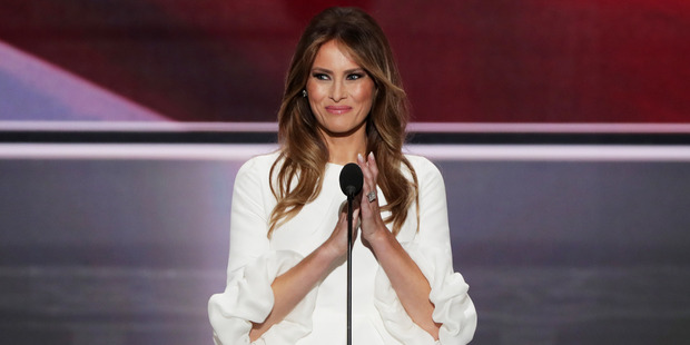 Fashion designer Sophie Theallet isn't a fan of Donald Trump, so she's refusing to dress his wife Melania. Photo / Getty Images.