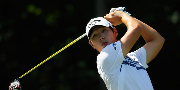Danny Lee during the Wyndham Championship. Photo / Getty Images