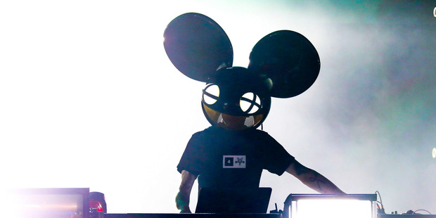 Deadmau5 has slammed his latest album before it has even been released. Photo/Scott Legato