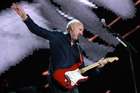 Pete Townshend of The Who performs during Desert Trip 2016 - his swinging-arm guitar skills were undiminished. (Photo by Kevin Winter/Getty Images)