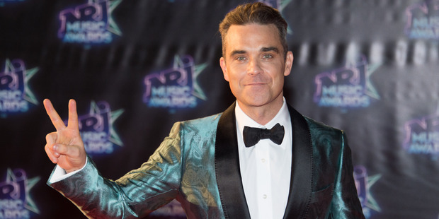 Singer Robbie Williams has only slept with four of the Spice Girls. Photo/ Getty