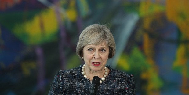 UK Prime Minister Teresa May. Photo / Getty Images