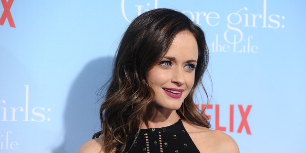 Actress Alexis Bledel attends the premiere of Gilmore Girls: A Year in the Life at Regency Bruin Theatre on November 18, 2016 in Los Angeles. Photo / Getty