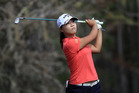 Lydia Ko in action at the CME Group Tour Championship at Tiburon Golf Club. Photo / Getty Images