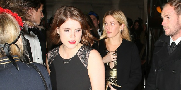 Princess Eugenie of York and Ellie Goulding attending the The Animal Ball. Photo / Getty