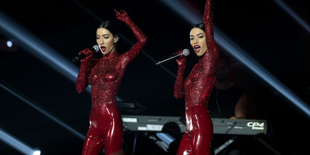 The Veronicas performed twice at the ARIAs. Photo / Getty