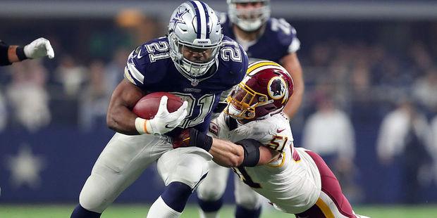 Dallas Cowboys running back Ezekiel Elliott. Photo / Getty