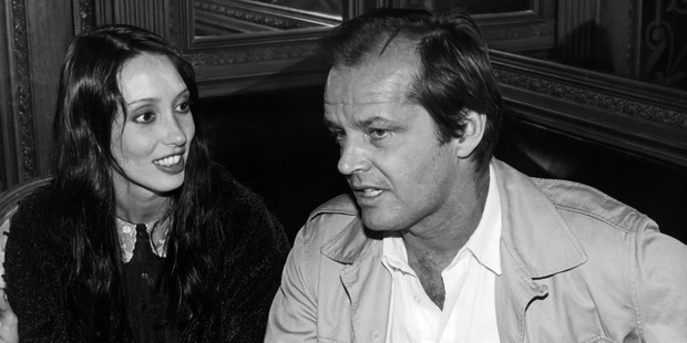Shelley Duvall and Jack Nicholson circa 1980 in New York City. Photo / Getty