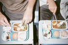 Airline food leaves a lot to be desired. Photo / Getty Images