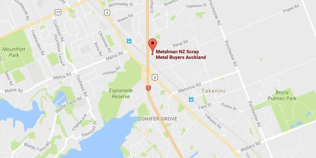 A Fire Service spokeswoman said eight trucks were at the scene at Metalman in Takanini, and they were notified of it at 8.30pm.