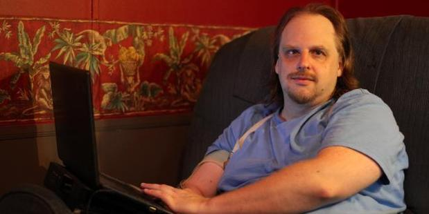 Todd Nickerson works on an online forum to support people with paedophilia. Photo / Getty Images