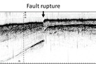 An image of the fault shows where the Needles fault ruptured after the recent earthquake. Photo/supplied