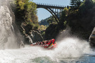 Ngai Tahu Tourism's shotover jet bridge attraction.