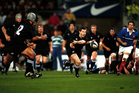 Andrew Mehrtens - saved the All Blacks in Paris, but they were well beaten in Marseille. Photo / Photosport.