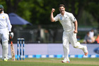 Colin de Grandhomme had done little to suggest he was capable of a six-wicket bag on his test debut. Picture / Photosport