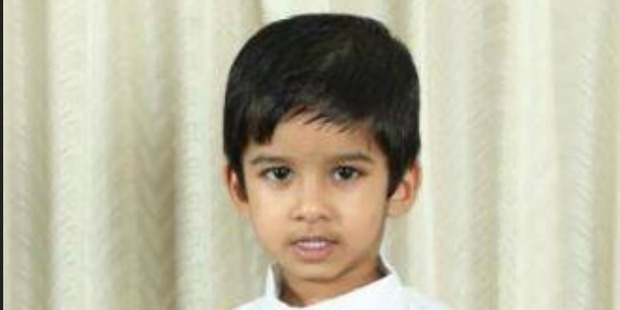 4 year old Aldrich Viju died in an accident at the Angels Childcare Centre on Anzac St Takapuna. Photo / Supplied
