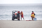 Surf Life Saving members helped search for the man yesterday. Photo/Andrew Warner