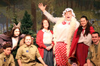 The cast of Red Riding Hood, opening at Repertory Theatre in December. PHOTO/STUART MUNRO