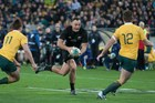 HOT DEMAND: Hawke's Bay All Black Israel Dagg in action during the August Bledisloe Cup test win against the Wallabies in Wellington. PHOTO/DARREN TAUMATA