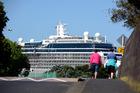 Celebrity Solstice cruised into Tauranga on Monday morning. Photo/George Novak
