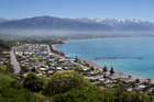 Kaikoura's coastline has been forever changed by the magnitude 7.8 earthquake but Destination Kaikoura general manager Glenn Ormsby says the town will get back on its feet. Photo / Alan Gibson