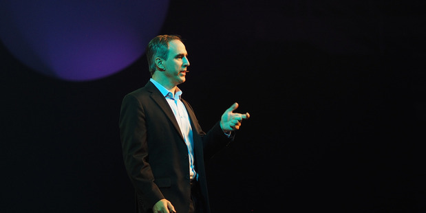 Loading Michael Gillam - Silicon Valley based It Health strategist speaks at SingularityU Summit in Christchurch November 2016, Supplied.