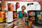 Volunteer Chris Olsen is a storeperson for the Tauranga Community Foodbank. Photo/George Novak