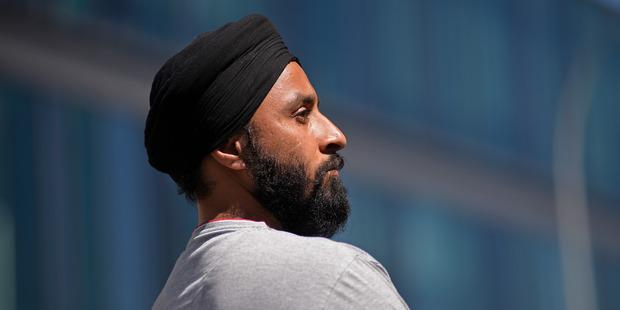 Gurveer Singh, 24, believes his turban and beard are barriers to getting a job in Tauranga. Photo/George Novak