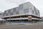 The Event Cinemas and Queensgate Shopping Centre in Lower Hutt, cordoned as a result of the November 14 earthquake. Picture Mark Mitchell