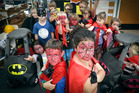 Papamoa Kindergarten getting ready for the superhero-themes Christmas Parade. Photo/Andrew Warner.
