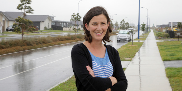 Recent Papamoa arrival Katrina Buchanan enjoys living in a new community by the beach.  Photo/Andrew Warner.