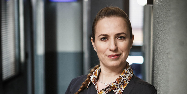 Cristina Ionda, plays Dr Gina Kadinsky in The Brokenwood Mysteries.