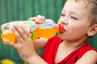 One can of sweet drink contains three days' worth of the recommended added sugar for young children. Photo / File