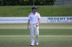 Henry Cooper made his debut for Northern Districts in the Plunket Shield against Central Districts. Photo/Andrew Johnsen